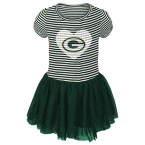 Toddler Green Bay Packers Celebration Tutu Dress