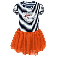 Toddler Denver Broncos Celebration Tutu Dress