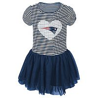 Toddler New England Patriots Celebration Tutu Dress