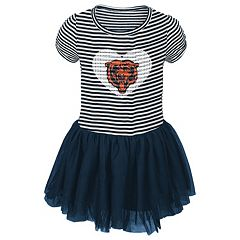Toddler Chicago Bears Celebration Tutu Dress