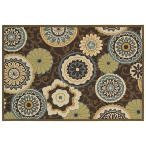 Couristan Covington Stella Medallion Indoor Outdoor Rug