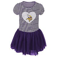 Toddler Minnesota Vikings Celebration Tutu Dress