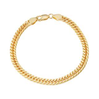 Men's Sterling Silver Curb Chain Bracelet