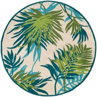 Couristan Covington Jungle Leaves Indoor Outdoor Rug