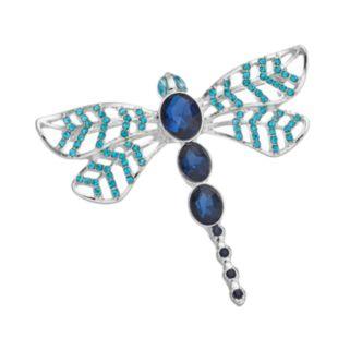 Dana Buchman Blue Dragonfly Pin