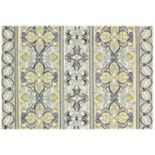 Couristan Covington Pegasus Floral Striped Indoor Outdoor Rug