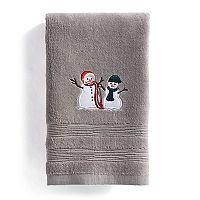St. Nicholas Square® Snowmen Fingertip Towel