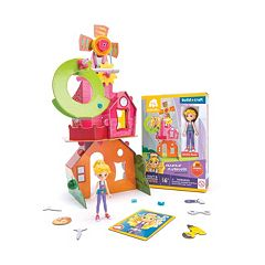 GoldieBlox Goldie's Crankin' Clubhouse Construction Toy