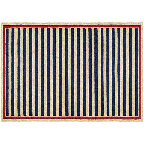 Couristan Covington Nautical Striped Indoor Outdoor Rug