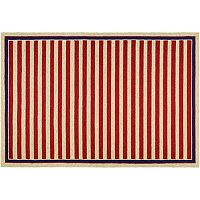 Couristan Covington Nautical Striped Indoor Outdoor Rug