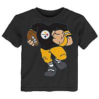 Toddler Pittsburgh Steelers Football Player Tee
