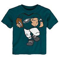 Toddler Philadelphia Eagles Football Player Tee