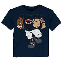 Toddler Chicago Bears Football Player Tee