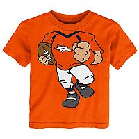 Toddler Denver Broncos Football Player Tee