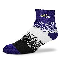 Women's For Bare Feet Baltimore Ravens Marquee Sleep Socks