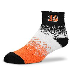 Women's For Bare Feet Cincinnati Bengals Marquee Sleep Socks