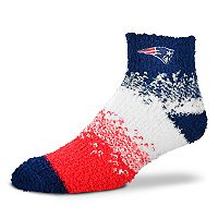 Women's For Bare Feet New England Patriots Marquee Sleep Socks