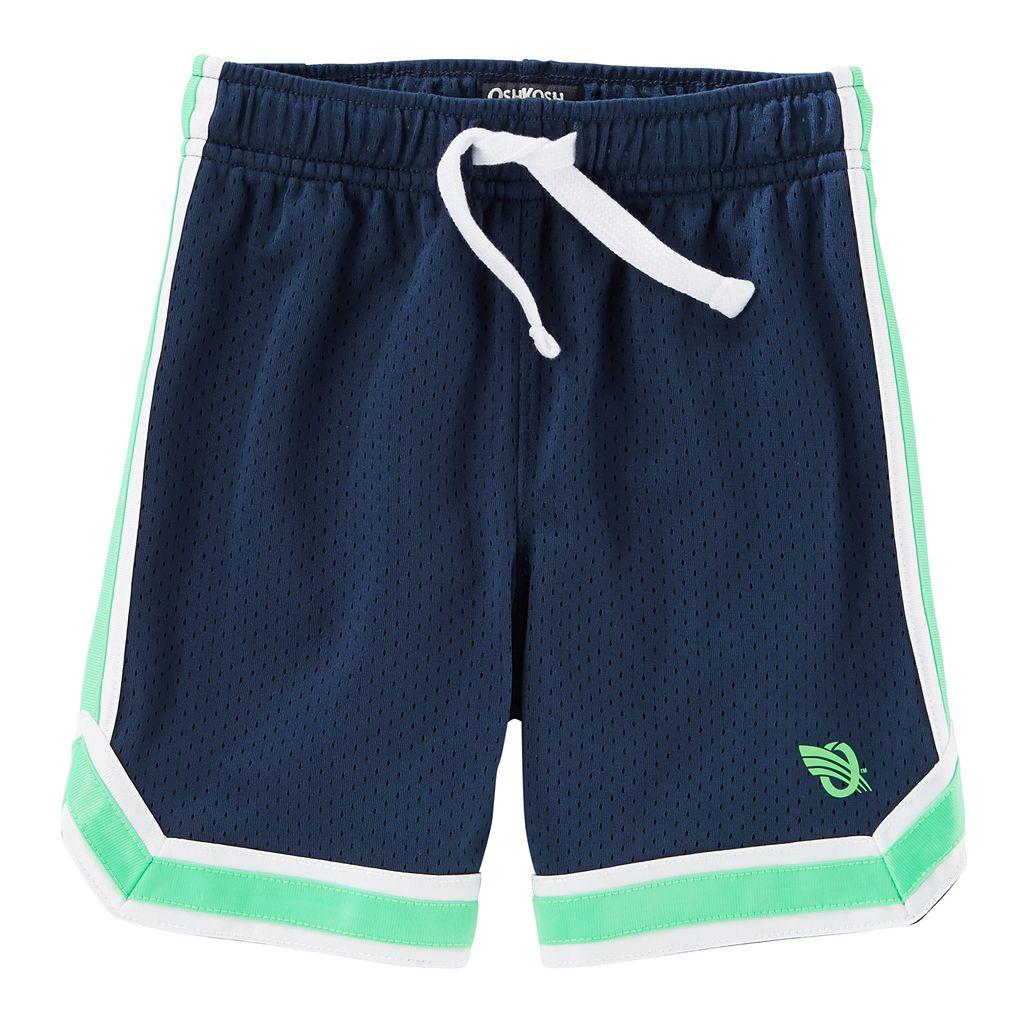 Boys 4-12 OshKosh B'gosh® Striped Mesh Active Shorts