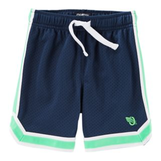 Boys 4-12 OshKosh B'gosh® Striped Mesh Active Shorts