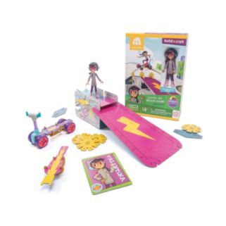 GoldieBlox Val's Level-Up Skate Park Construction Toy
