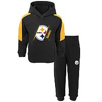 Baby Pittsburgh Steelers Fullback Fleece Hoodie & Pants Set