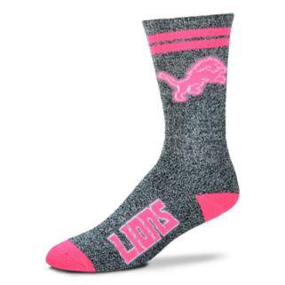 Adult For Bare Feet Detroit Lions Crew Socks