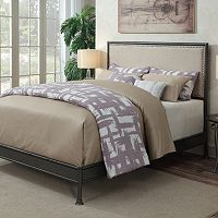 Pulaski Queen Upholstered Nailhead Bed