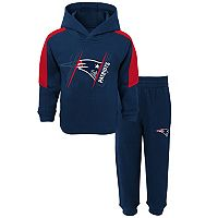 Baby New England Patriots Fullback Fleece Hoodie & Pants Set