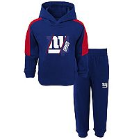 Baby New York Giants Fullback Fleece Hoodie & Pants Set