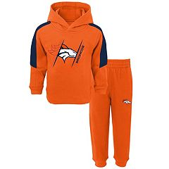 Baby Denver Broncos Fullback Fleece Hoodie & Pants Set