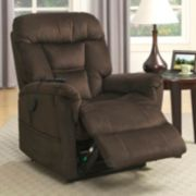 Pulaski Serengeti Dark Remote Lift Recliner Arm Chair