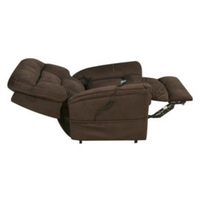 Pulaski Serengeti Dark Remote Lift Recliner Arm Chair