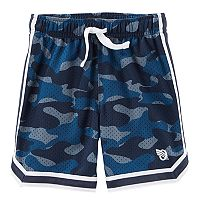 Boys 4-12 OshKosh B'gosh® Camouflaged Mesh Active Shorts