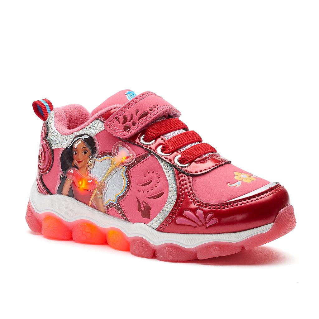 Disney Elena of Avalor Toddler Girls' Light-Up Shoes