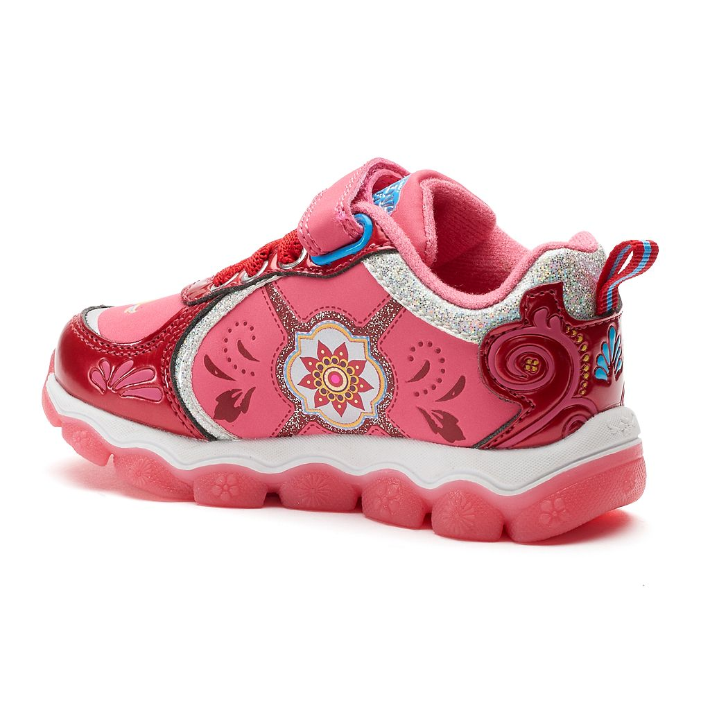Disney Elena of Avalor Toddler Girls' Light-Up Shoes