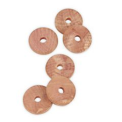 Honey-Can-Do 36-pack Cedar Hanging Rings