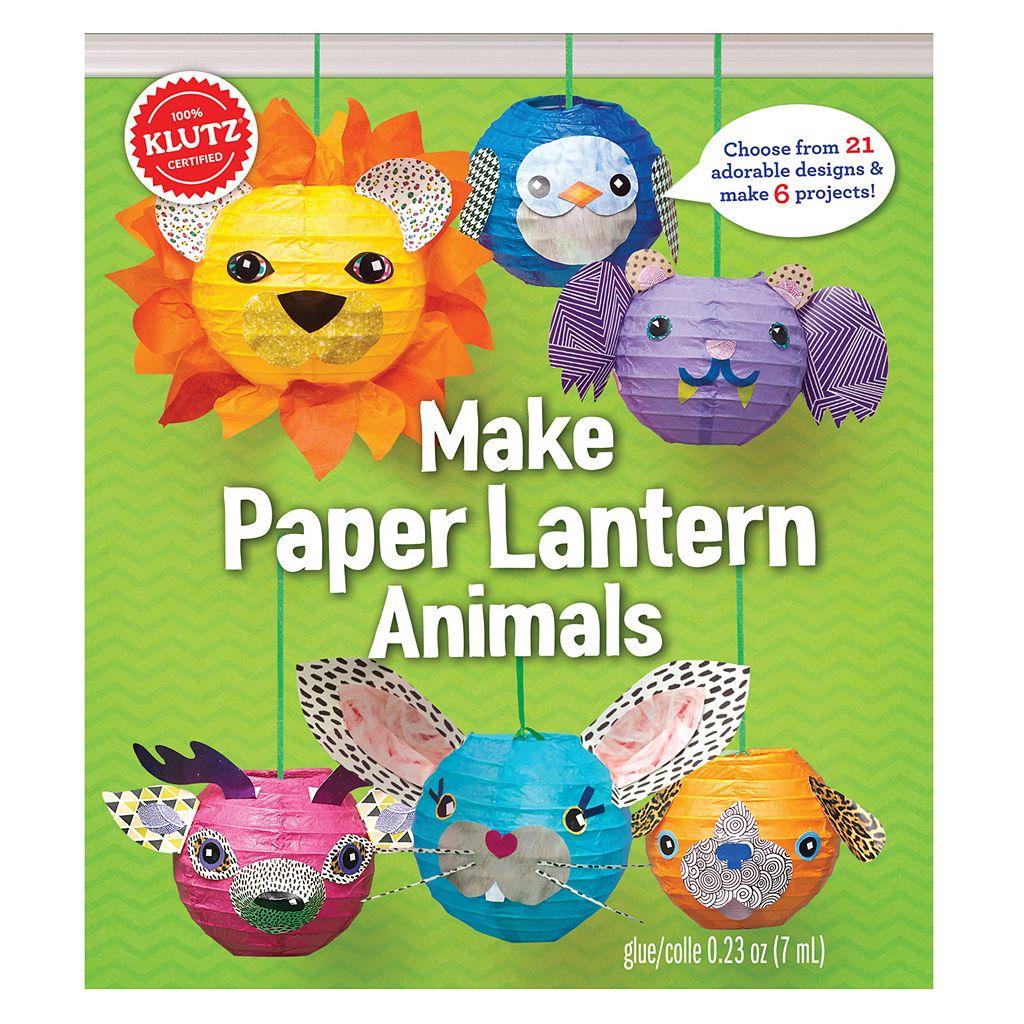 Klutz Paper Lantern Animals Kit