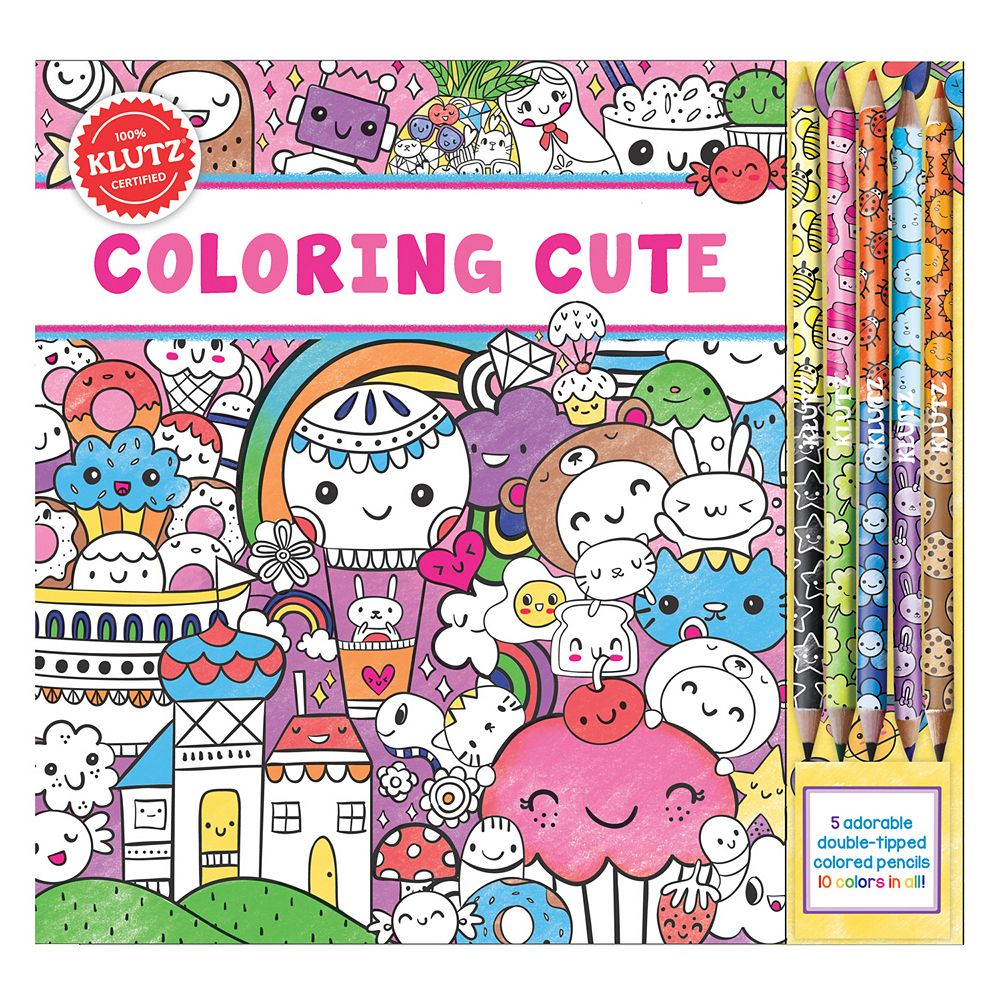 Coloring books for adults kohls - Klutz Coloring Cute Kit