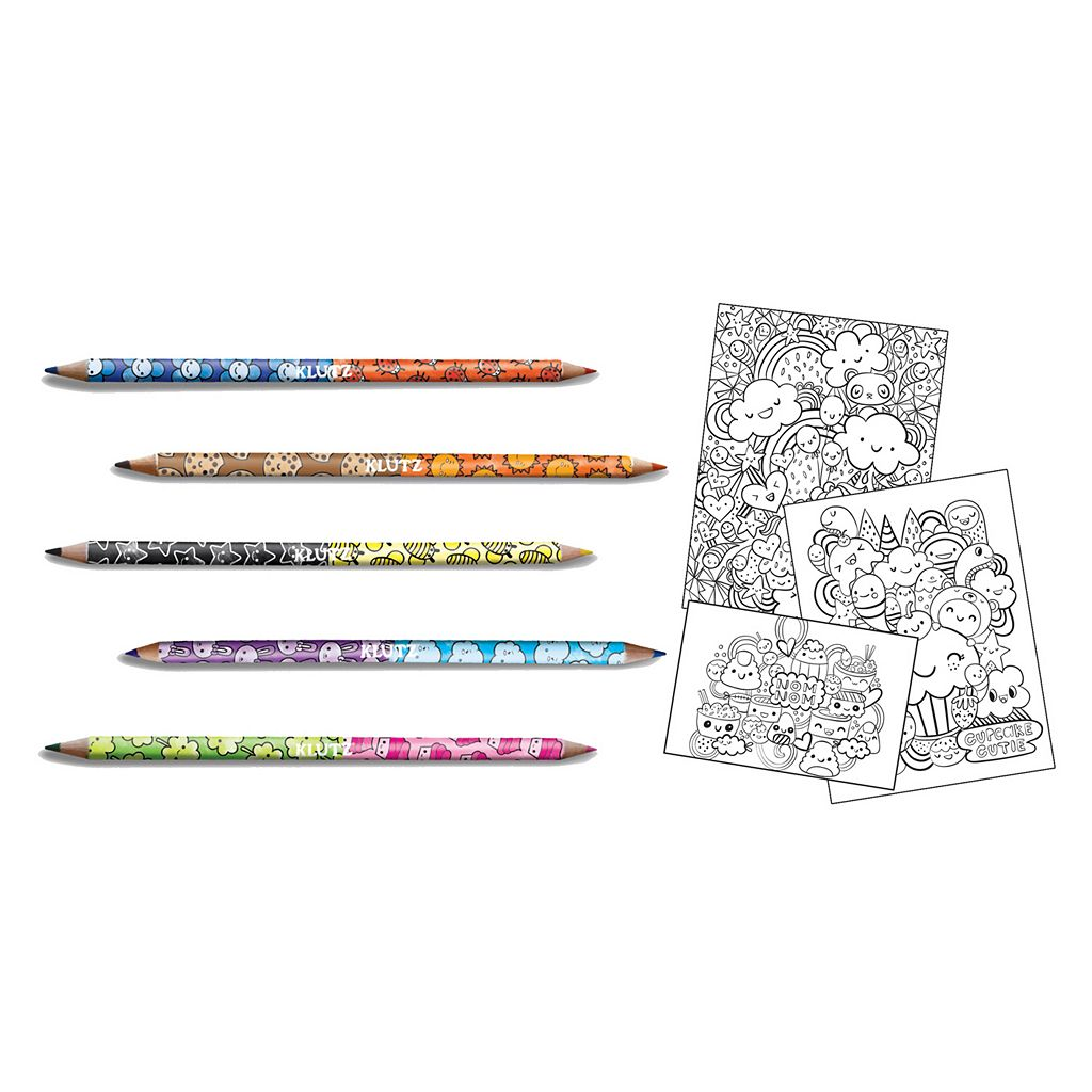 Klutz Coloring Cute Kit