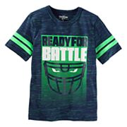 Boys 4-12 OshKosh B'gosh® 'Ready For Battle' Space-Dyed Graphic Tee