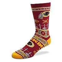 Adult For Bare Feet Washington Redskins Super Fan Crew Socks