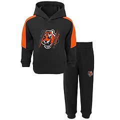 Toddler Cincinnati Bengals Fullback Fleece Hoodie & Pants Set