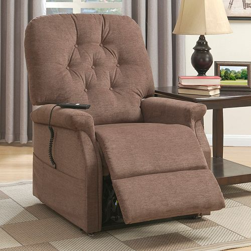 Pulaski Tufted Remote Lift Recliner Arm Chair