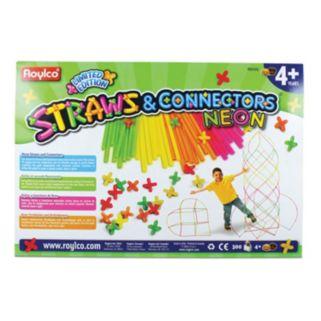 Roylco 300-pc. Straws & Connectors Neon Set