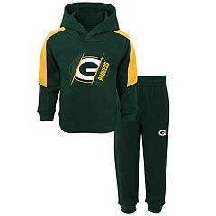 Toddler Green Bay Packers Fullback Fleece Hoodie & Pants Set