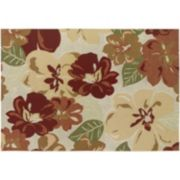 Couristan Dolce Novella Floral Indoor Outdoor Rug