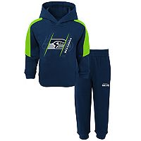 Toddler Seattle Seahawks Fullback Fleece Hoodie & Pants Set