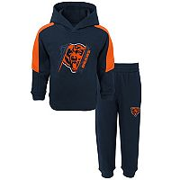 Toddler Chicago Bears Fullback Fleece Hoodie & Pants Set