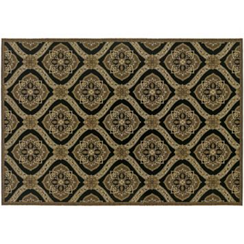Couristan Dolce Napoli Floral Indoor Outdoor Rug