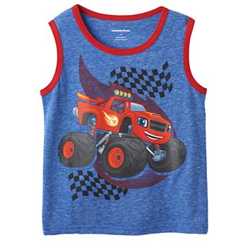 Boys 4-7 Blaze & The Monster Machines Nep Tank Top